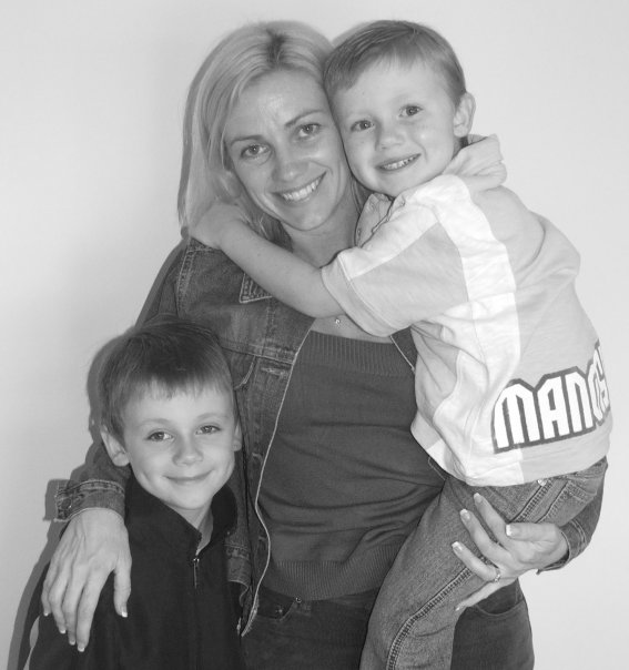 Tammy with Kids